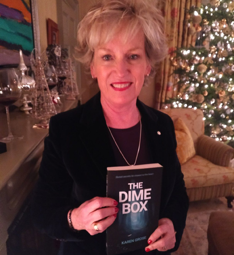 Lisa De Wilde reading The Dime Box by Karen Grose