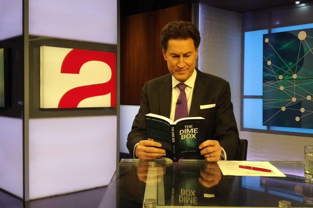 Steve Paikin reading The Dime Box by Karen Grose
