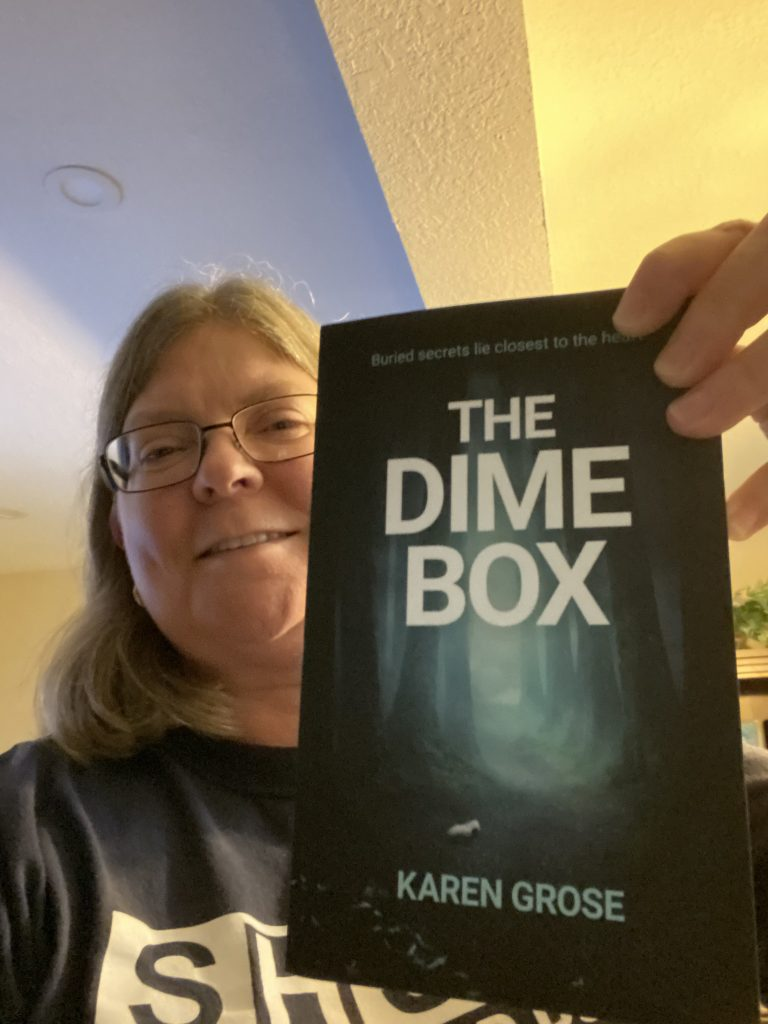 A reader of The Dime Box by Karen Grose